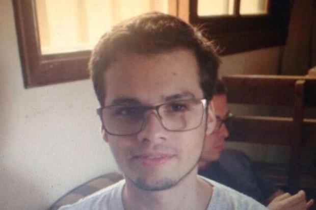 Corpo encontrado em Rio Grande é de universitário desaparecido Arquivo pessoal/Arquivo pessoal