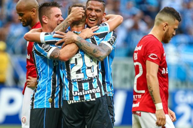 """Luciano Périco: """"A vantagem do Grêmio é gigante"""" Lucas Uebel / Grêmio, Divulgação/Grêmio, Divulgação"""