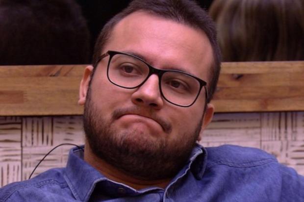 """""""BBB 18"""": Diego é eliminado do programa com 81% dos votos TV Globo/Reprodução"""