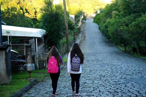 Em vídeo, confira o trajeto feito por menina desaparecida em Caxias do Sul Diogo Sallaberry/Agencia RBS