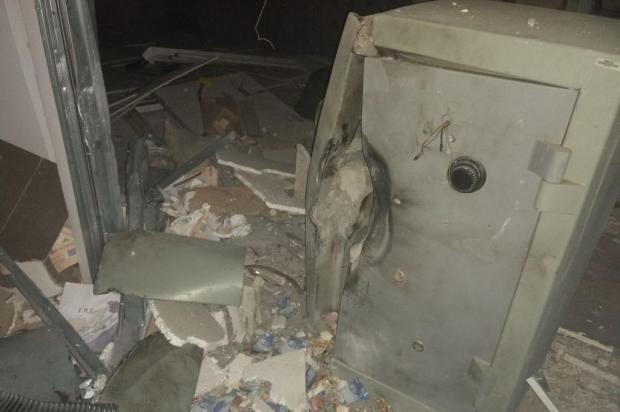 Criminosos usam explosivos para roubar cofre em agência bancária de Arroio dos Ratos Polícia Civil Arroio dos Ratos/Divulgação