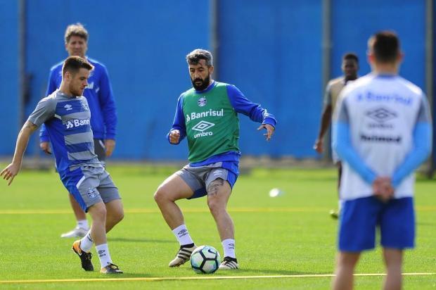 Grêmio projeta retorno de Douglas ainda no primeiro semestre Mateus Bruxel/Agencia RBS