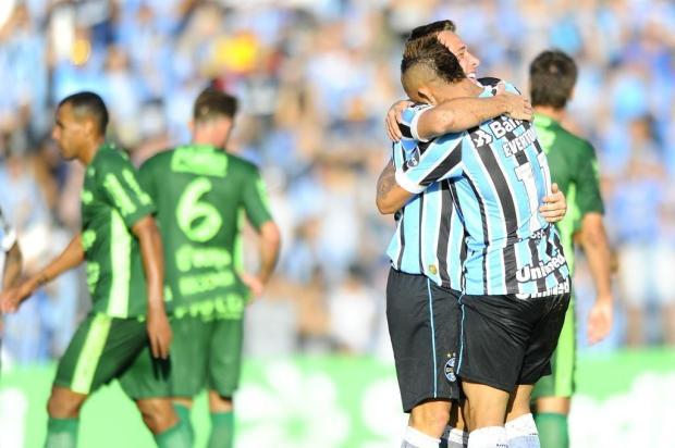 """Cacalo: """"Tem pessoas que não conseguem se acostumar com a superioridade do Tricolor"""" Lauro Alves/Agencia RBS"""