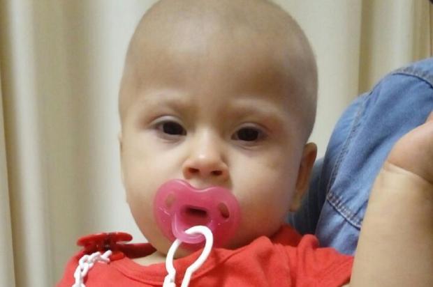 Bebê precisa de doações para concluir tratamento contra doença rara Arquivo Pessoal / Leitor/DG/Leitor/DG