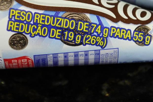 Chocolates, sorvetes e produtos de limpeza menores: redução precisa ser informada nas embalagens Ronaldo Bernardi/Agencia RBS