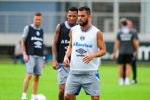 """Cacalo: """"Força total para o Grêmio na decisão"""" Omar Freitas/Agencia RBS"""