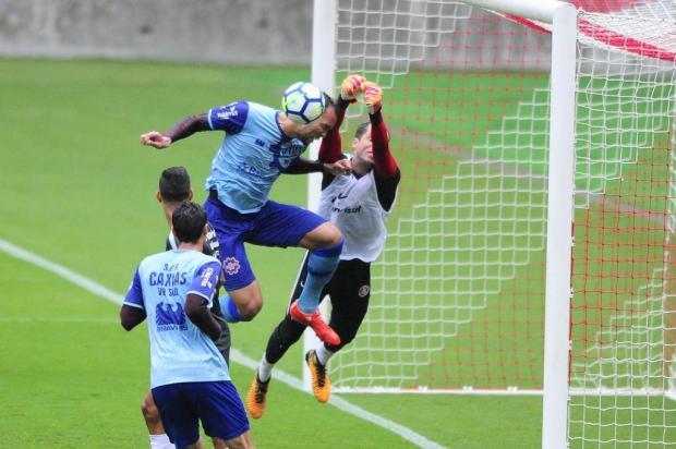 Com desempenho irregular, Inter empata com o Caxias em jogo-treino no Beira-Rio Robinson Estrásulas/Agencia RBS