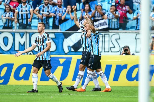 Guerrinha: A valorização do menino do Grêmio Lucas Uebel / Grêmio, Divulgação/Grêmio, Divulgação