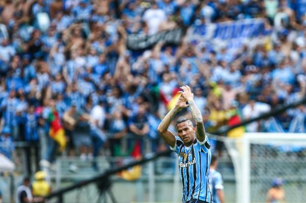 """Guerrinha: """"Jael protagonista, poucos esperavam por isso"""" Lucas Uebel / Grêmio/Divulgação/Grêmio/Divulgação"""