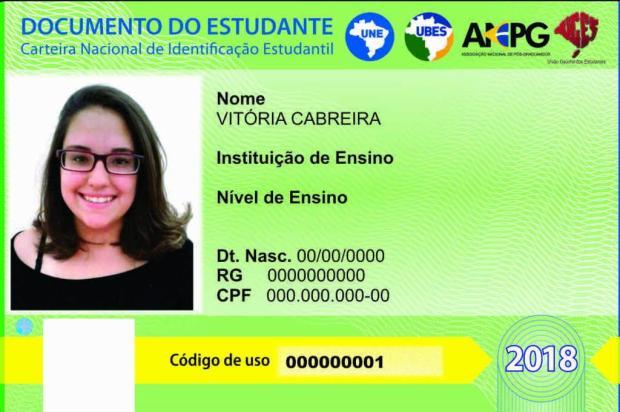 Carteira estudantil pode ser feita em unidades do CIEE da Região Metropolitana e do Interior; veja como fazer a sua Divulgação/Uges