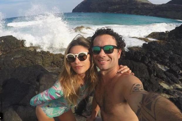 Marco Luque e Flávia Vitorino terminam casamento de oito anos Reprodução/Instagram