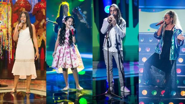 """""""The Voice Kids"""": conheça a história dos finalistas do reality Globo / Divulgação/Divulgação"""