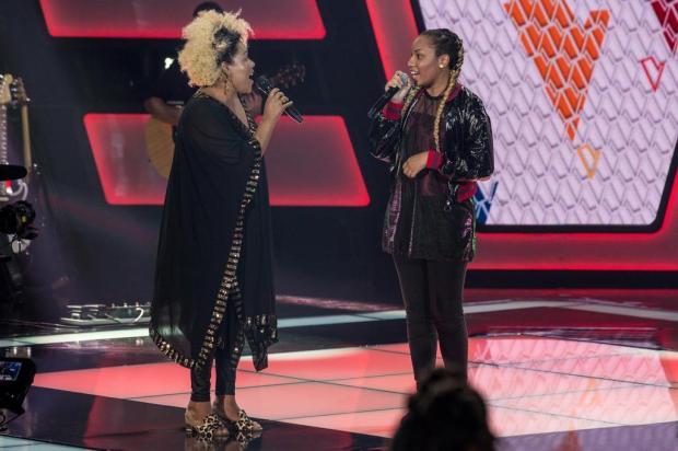 """Integrante do Fat Family desabafa após polêmica no """"The Voice Kids"""": """"A cor negra incomoda"""" Fabio Rocha/TV Globo/Divulgação"""