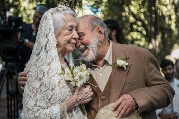 """""""O Outro Lado do Paraíso: casamento de Mercedes e Josafá emociona o público e movimenta as redes sociais Raquel Cunha/TV Globo/Divulgação"""