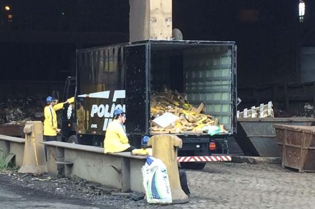 Polícia Civil incinera mais de quatro toneladas de drogas Polícia Civil/Divulgação