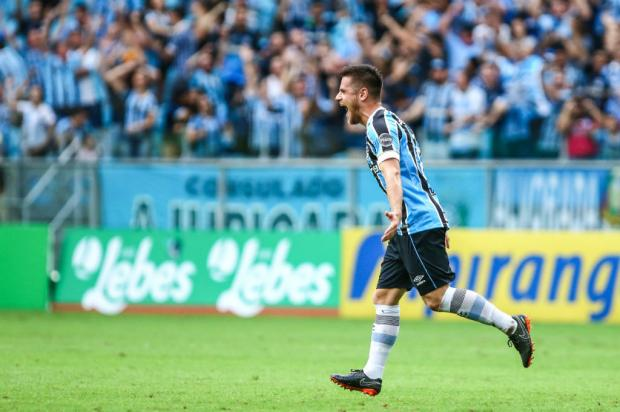 Polivalente, Ramiro vira arma na bola parada para o Grêmio Lucas Uebel / Grêmio/Divulgação/Grêmio/Divulgação