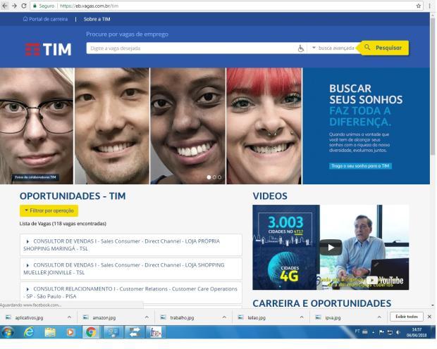 TIM seleciona profissionais com deficiência no Rio Grande do Sul /