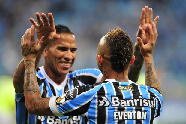 Com segundo tempo de luxo, Grêmio goleia o Monagas por 4 a 0 na Arena Fernando Gomes/Agencia RBS