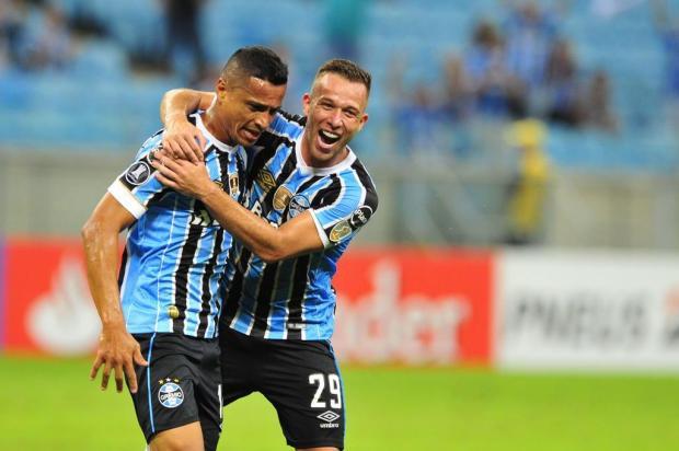 Luciano Périco: dois Grêmios entraram em campo contra o Monagas Fernando Gomes/Agencia RBS