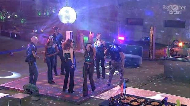 Boletim BBB: Festa Disco tem especulações sobre votos e Gleici saudosa TV Globo / Reprodução/Reprodução