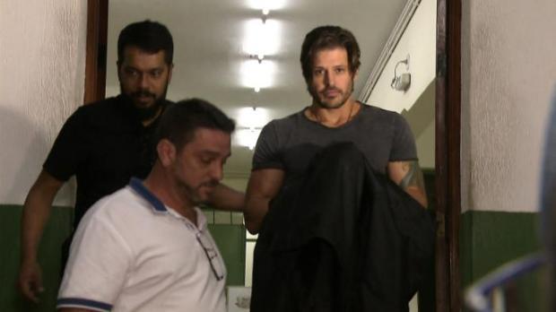 Dado Dolabella deixa a prisão após dois meses TV Globo / Reprodução/Reprodução