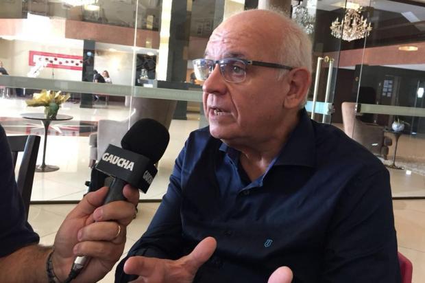 """Cacalo: """"Romildo Bolzan é o responsável pelo ótimo momento do Grêmio"""" Eduardo Gabardo/Agência RBS"""