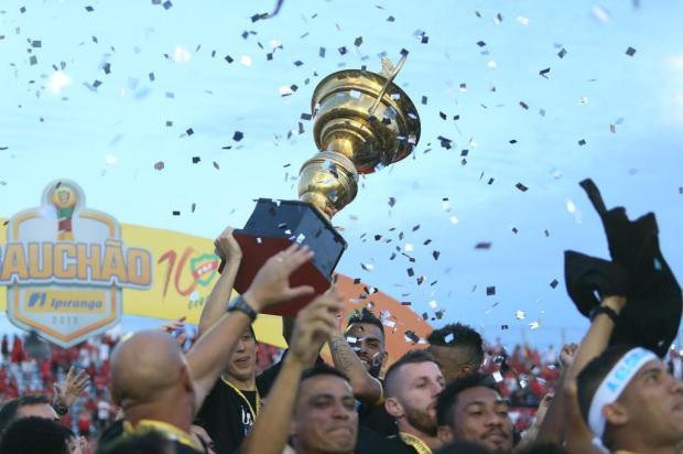"""Guerrinha: """"Merecido campeão"""" Jefferson Botega/Agencia RBS"""