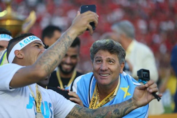 Após 22 anos, Grêmio terá a chance de repetir o feito da tríplice coroa Jefferson Botega/Agencia RBS