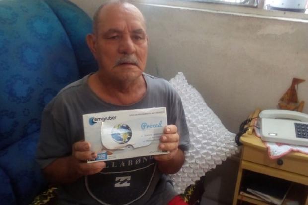 Aposentado sofre com falta de sondas uretrais, em Sapucaia do Sul Arquivo Pessoal / Leitor/DG/Leitor/DG