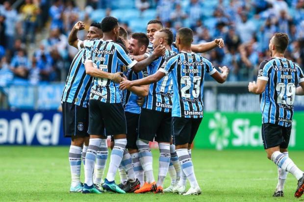 """Cacalo: """"O Grêmio é o melhor time das Américas e do Brasil"""" Lucas Uebel/Divulgação"""