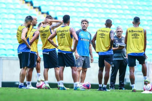 """Luciano Périco: """"Ainda não é hora de o Grêmio poupar titulares"""" LUCAS UEBEL/GREMIO FBPA/Gremio.net"""