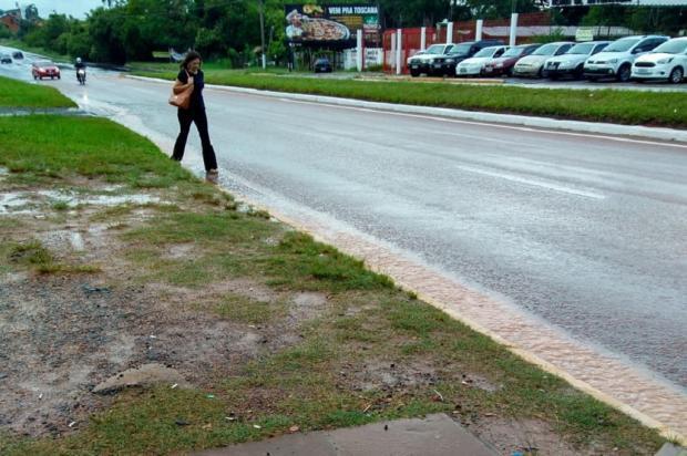 Pedestres esperam por passarela na RS-020 há mais de 15 anos, em Gravataí Arquivo Pessoal / Leitor/DG/Leitor/DG