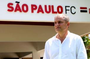 """Cacalo: """"Gostaria que o São Paulo não absorvesse essa troca de técnico"""" Rubens Chiri / São Paulo/Divulgação/São Paulo/Divulgação"""