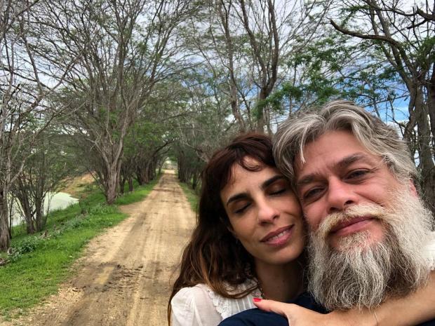 Fábio Assunção assume romance com Maria Ribeiro e se declara no Instagram Instagram / Reprodução/Reprodução