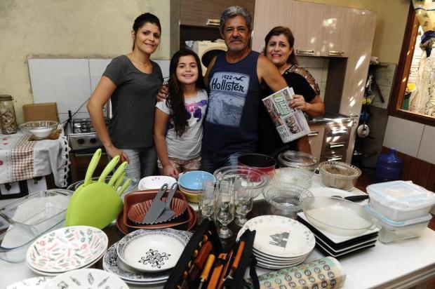 Aniversário do DG: família do bairro Restinga lê o jornal desde a primeira edição Ronaldo Bernardi/Agencia RBS