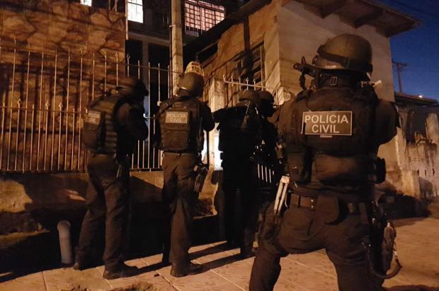 Polícia Civil faz operação para combater homicídios na Lomba do Pinheiro Polícia Civil / Divulgação/Divulgação