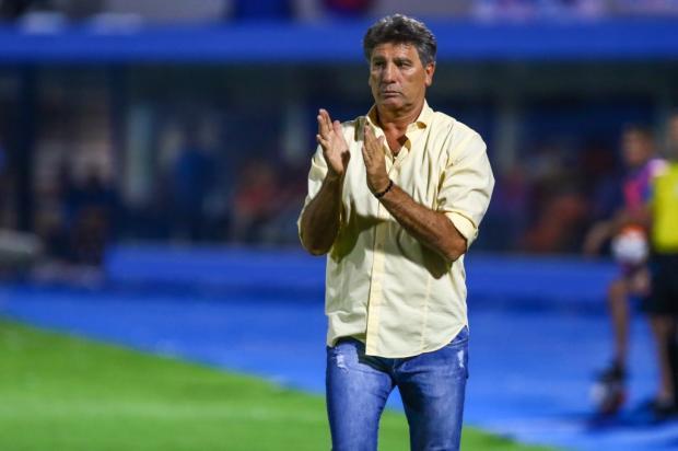 """Cacalo: """"Renato tem razão"""" Lucas Uebel / Divulgação Grêmio/Divulgação Grêmio"""