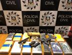 Dono de mercado na zona sul de Porto Alegre é preso com 15kg de cocaína Polícia Civil / Divulgação /