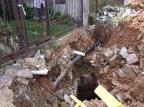 Buraco no bairro Vila Jardim aumenta após obra do município Leitor DG / Arquivo Pessoal/Arquivo Pessoal