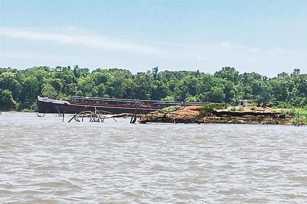 Mudança em regra para extração de areia reabre brecha a dano ambiental no Rio Jacuí Fábio Almeida/RBS TV