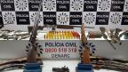 Polícia Civil apreende 32 armas em depósito clandestino em Cachoeirinha Polícia Civil / Divulgação/Divulgação