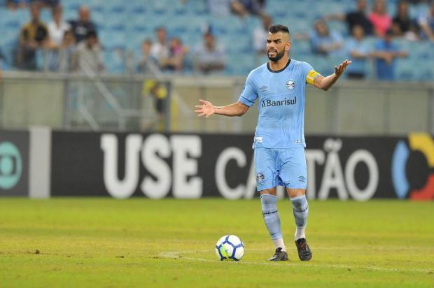 """Luciano Périco: """"Grêmio e Atlético-PR trataram muito bem a bola"""" Lauro Alves/Agencia RBS"""