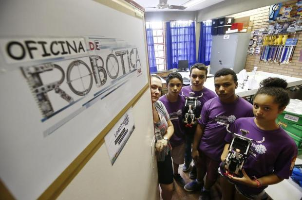 Vila Mapa: escola batalha para ser o Brasil no Canadá André Ávila/Agencia RBS