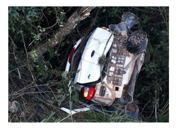 Assaltante morre e outros dois são presos após baterem em caminhão durante fuga em Gravataí Brigada Militar / Divulgação/Divulgação