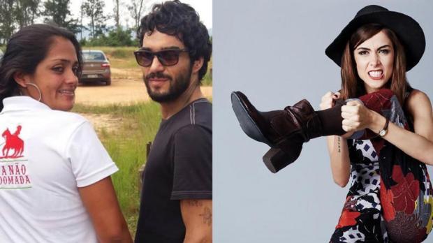 Atrizes saem em defesa de Caio Blat após ator ser chamado de machista por Maria Casadevall Instagram/Reprodução