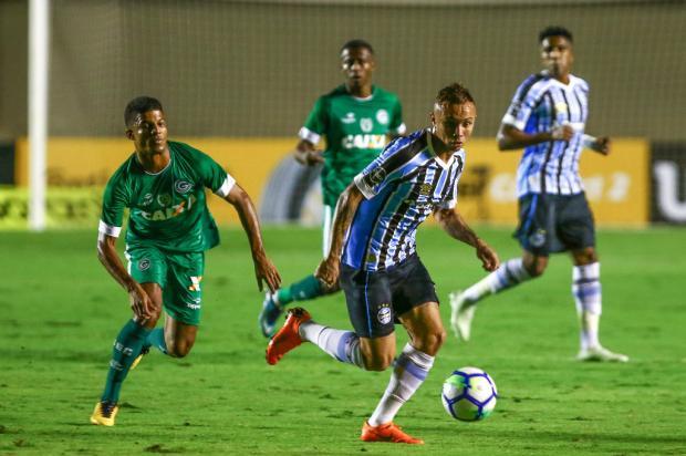 """Guerrinha: """"Jogo da volta será apenas para gastar luz"""" Lucas Uebel / Grêmio, Divulgação/Grêmio, Divulgação"""