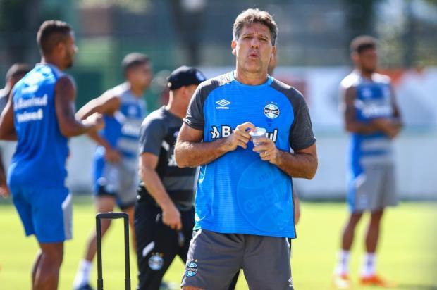 """Guerrinha: """"Grêmio não será favorito com os reservas contra o Botafogo Lucas Uebel / Divulgação Grêmio/Divulgação Grêmio"""