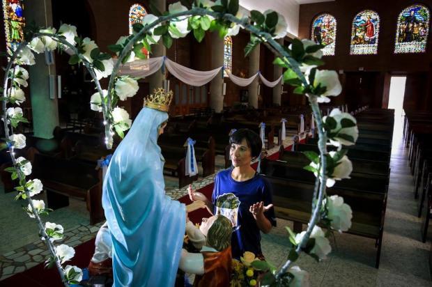 Dia de devoção à Nossa Senhora do Trabalho Mateus Bruxel/Agencia RBS
