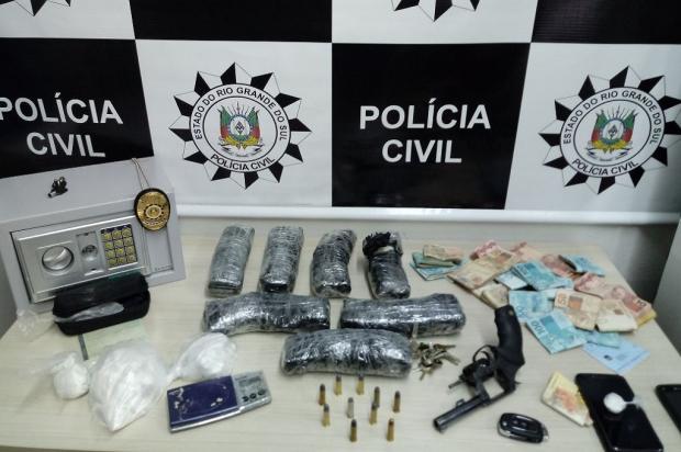 Polícia Civil apreende R$ 20 mil e 4kg de cocaína de esquema de telentrega na Serra Polícia Civil / Divulgação/Divulgação