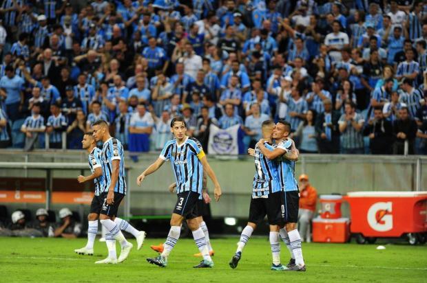 """Guerrinha: """"Grêmio não tomou conhecimento do Cerro Porteño"""" André Ávila/Agencia RBS"""